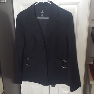 Jackets & Blazers - Textured Career 12 Blazer Jacket
